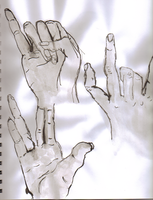 Hands study 2 by waterfish5678901