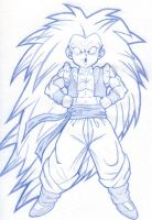 Gotenks Posing by Patorik