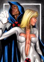 Cloak And Dagger - Sketch Card by J-Redd