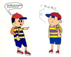 Ness meets Nus by Red-Supernova64