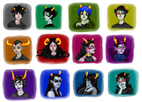 Too Much Homestuck by KittyCatKissu