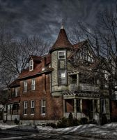 The turret's house by Yukkabelle