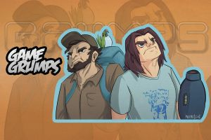 Game Grumps By Hermitcat by Egofaptor