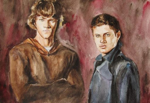 Dean and Sam by Greencat85