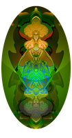 AWESOMELY BRIGHT QUEEN OF CLUBS by ADAtheQueenOfHEARTS