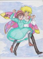 Howl's Moving Castle by Kiyomi-chan16