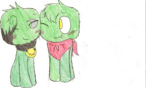 A Creeper Couple by SparkyChan23