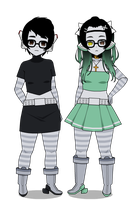 :Outfit fun: Robots by your-INS4NITY