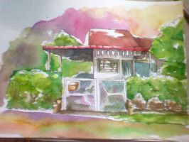 Old house with memory by selenaloong