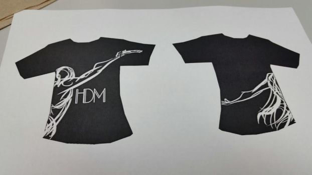 HDM og shirt designs by j-u-nice