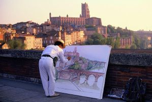 Painter of Albi by Suppi-lu-liuma