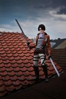 Shingeki no Kyojin: Over the Rooftops by general-kuroru