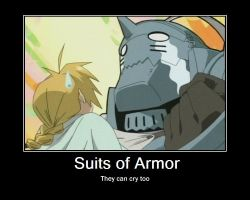 suits of armor by animelover0831