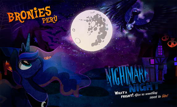 Bronies peru nightmare night by Naomi-shan