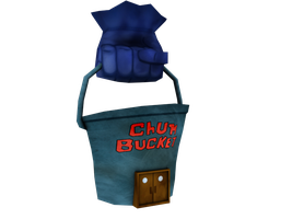 Chum Bucket by RubiiART