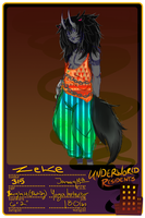Underworld Resident:: ZEKE application by AliceStrangely