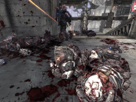 Gears Of War Carnage by Cochran-BananaHands