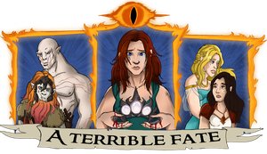 LOTR : A terrible fate by LaDarkA117