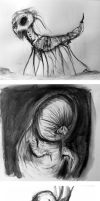 Graphite Hell Doodles 2 by Comickpro