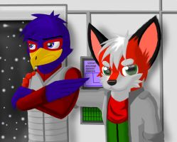Falco Hates Being In Photos by MyRedYoshi