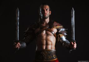 Gannicus - Freedom Spartacus Cosplay by Leon Chiro by LeonChiroCosplayArt