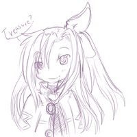 Iffy sketch by alinoravanity
