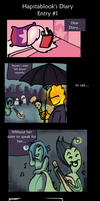 UNDERTALE: Hapstablook's Diary Entry 1 by catgirl123