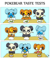 Pokebear Taste Tests by pichu90