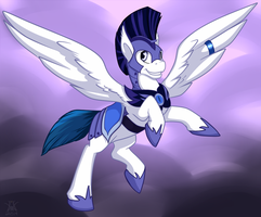 Lunar Centurion [For Crystal Wishes!] by PaintedWave
