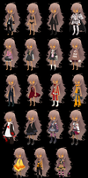 Lailah Outfits by Danerboots