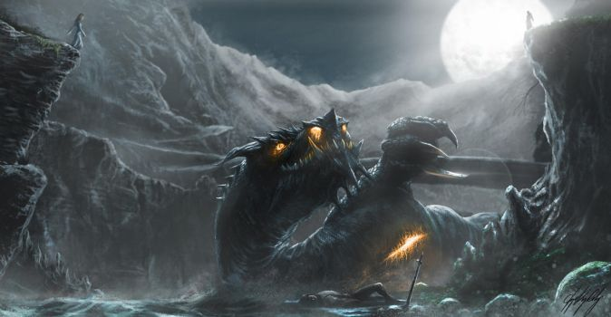 Glaurung The Deciever by CKGoksoy