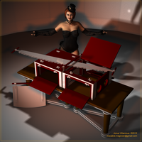 Sawing Box V01 by MacabreMagician