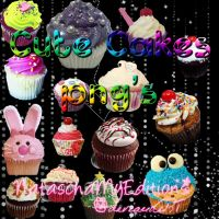 Cute  Cakes Png's by nataschamyeditions