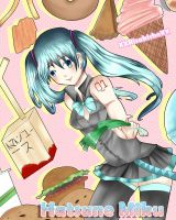 Hatsune Miku Foodies! by XXRisakishoXX