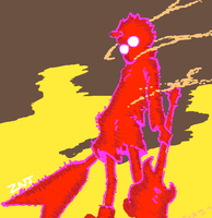 FLCL for Draw Something by zachjacobs