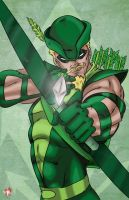 Green Arrow by WiL-Woods
