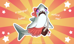 Tsundere Shark by OEmilyThePenguinO