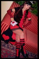 Red,black and hearts by pallottili