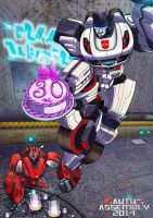 Auto Assembly- Happy BDay Transformers! by raya