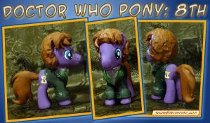 Doctor Who Pony - 8th Doctor by HeyLookASign