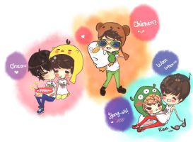 SHINee by rawrPumpkin89