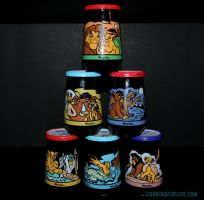 Lion King Welch Jelly Jars Sealed #1-6 by LionKingForLife