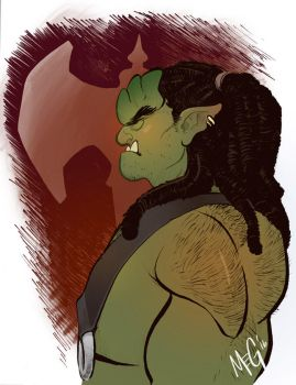Orc Dude by MegSyv