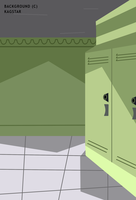 -:Lockers Background:- by kagstar