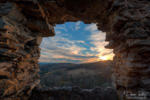 Look through the castle window by LinsenSchuss