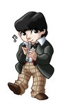Chibi 2nd Doctor by TwinEnigma