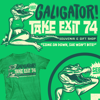 Galigator by gimetzco
