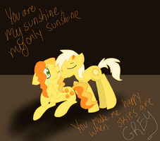 You are My Sunshine by StormThePony
