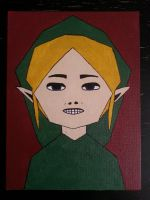 Ben Drowned painting by TheScarecrowOfNorway