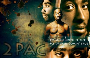 2Pac wallpaper 2012 by Cleicha
